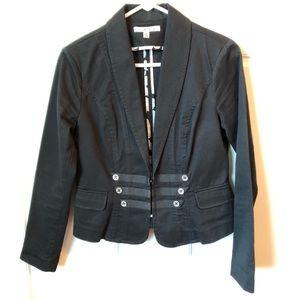 CABI | NWT Black Military Jacket # 329